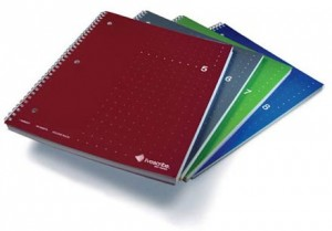 College ruled notebooks available from the Livescribe store.